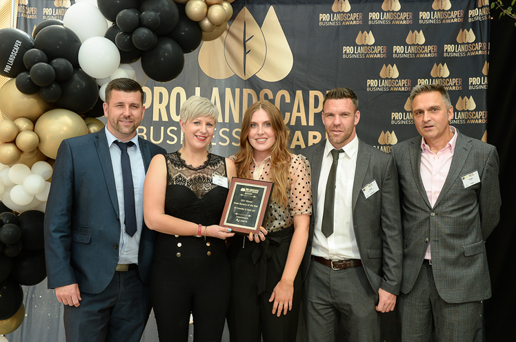 Crowders won 'Trade Nursery of the Year' at the Pro Landscaper Business Awards.